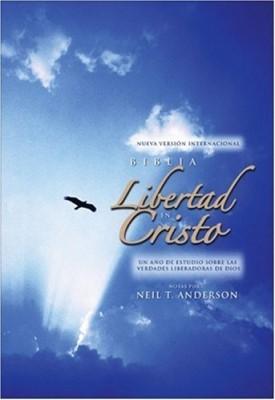 Biblia Libertad en Cristo NVI (Tapa Dura) [Biblia]