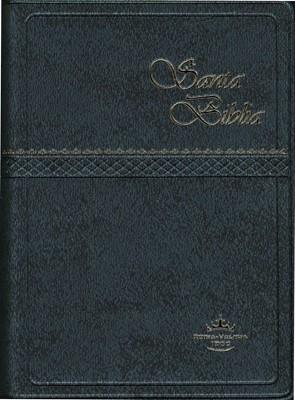 Santa Biblia RVR022cLG Café (Imitación Piel) [Biblia]