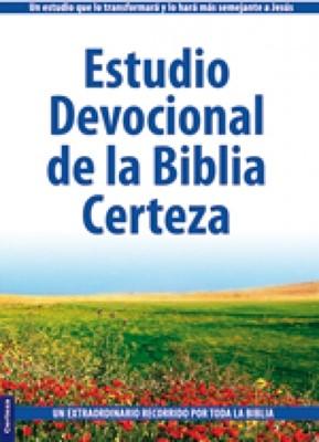 Estudio Devocional de la Biblia Certeza (Rústica con solapas) [Libro]