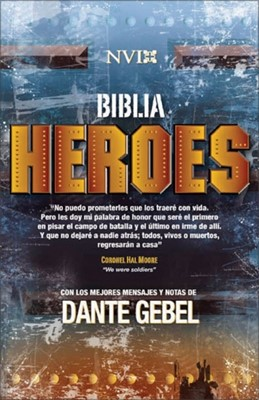 Biblia NVI Héroes - Tapa Dura (Tapa Dura)