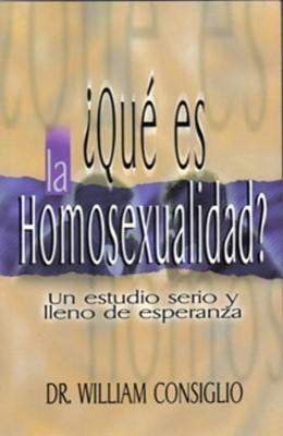 ¿Qué es la Homosexualidad? (Rústica) [Libro]