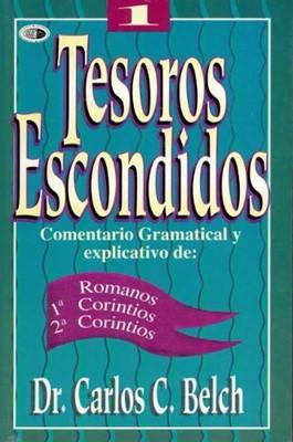 Tesoros Escondidos Vol.1 Romanos  1y2 Corintios (Rústica ) [Libro]