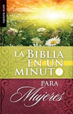 Biblia en un minuto para Mujeres (Rustica) [Libro]