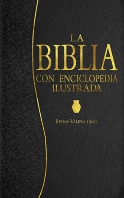 La Biblia con Enciclopedia Ilustrada (Piel especial Negro) [Biblia]