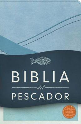 Biblia del Pescador (Símil Piel Azul Cobalto)
