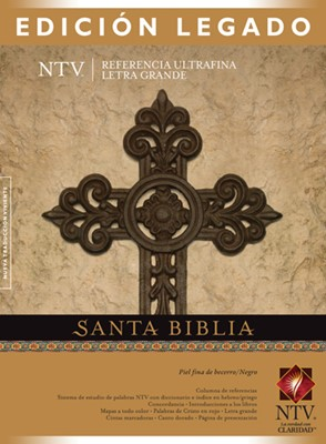 Santa Biblia Edición Legado (Piel fina de becerro / Negro) [Biblia]