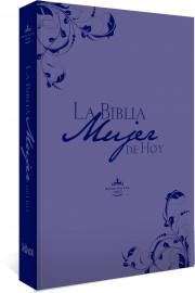 La Biblia Mujer de Hoy (Piel especial Purpura) [Biblia]