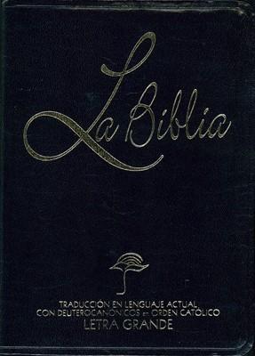La Biblia Lenguaje Actual Letra Grande (Imitación Piel) [Biblia]