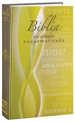 Biblia de Estudio Esquematizada (Tapa Dura) [Biblia]