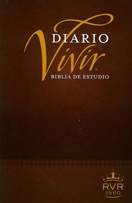 Biblia de Estudio Diario Vivir (Tapa Suave) [Biblia]