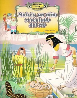 Moisés, un niño rescatado del río (Tapa Suave) [Libro]