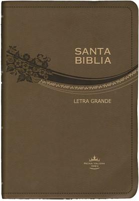 Biblia RVR065 Letra Grande Piel (Café) (Piel Café) [Biblia]