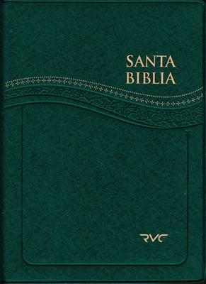 Santa Biblia RVC Letra Grande (Verde) (Vinilo Verde) [Biblia]