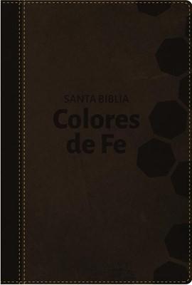 Biblia Colores De Fe RVR 1977 (Piel Italiana)