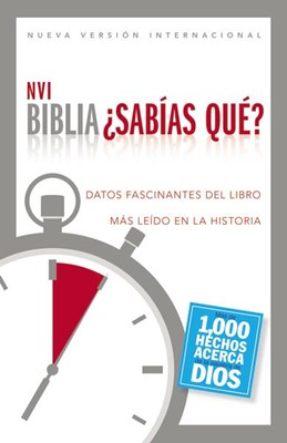 NVI Biblia ¿Sabías qué? (Tapa Dura)