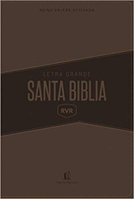 Biblia Letra Grande Café (Piel Suave)