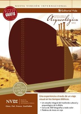 Santa Biblia de Estudio Arqueológica NVI (Piel Genuina)