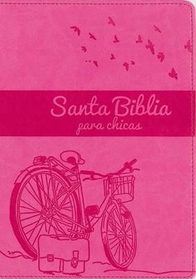 Santa Biblia para chicas NVI (Piel elaborada)