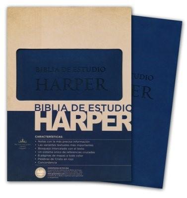 Biblia Estudio Harper (Tapa Simil Piel )