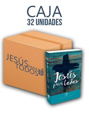Caja Biblia Promesas Jesús Para Todos 32 Unidades (Rústica)