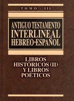 A.T. Interlineal Hebreo - Español Vol. III (Tapa Dura) [Libro]
