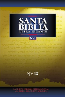 Santa Biblia Letra Gigante NVI (Tapa Dura)