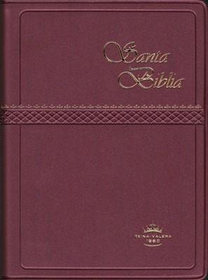 Santa Biblia RVR022cLG Vino (Imitación Piel) [Biblia]