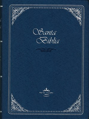 Santa Biblia RVR042c Azul