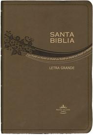 Biblia RVR065 Letra Grande Piel (Café)