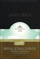 Santa Biblia Letra Grande Tamaño Manual con Referencias
