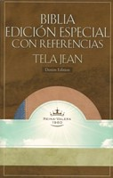 Biblia Edición Especial con Referencias Tela Jean