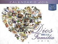 Calendario 2016 - Dios ama a la Familia