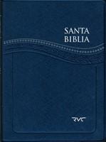 Santa Biblia RVC Letra Grande (Azul)