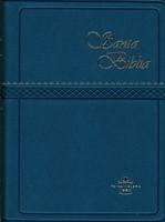 Santa Biblia RVR022cLG Azul