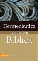 Hermenéutica, Introducción Bíblica