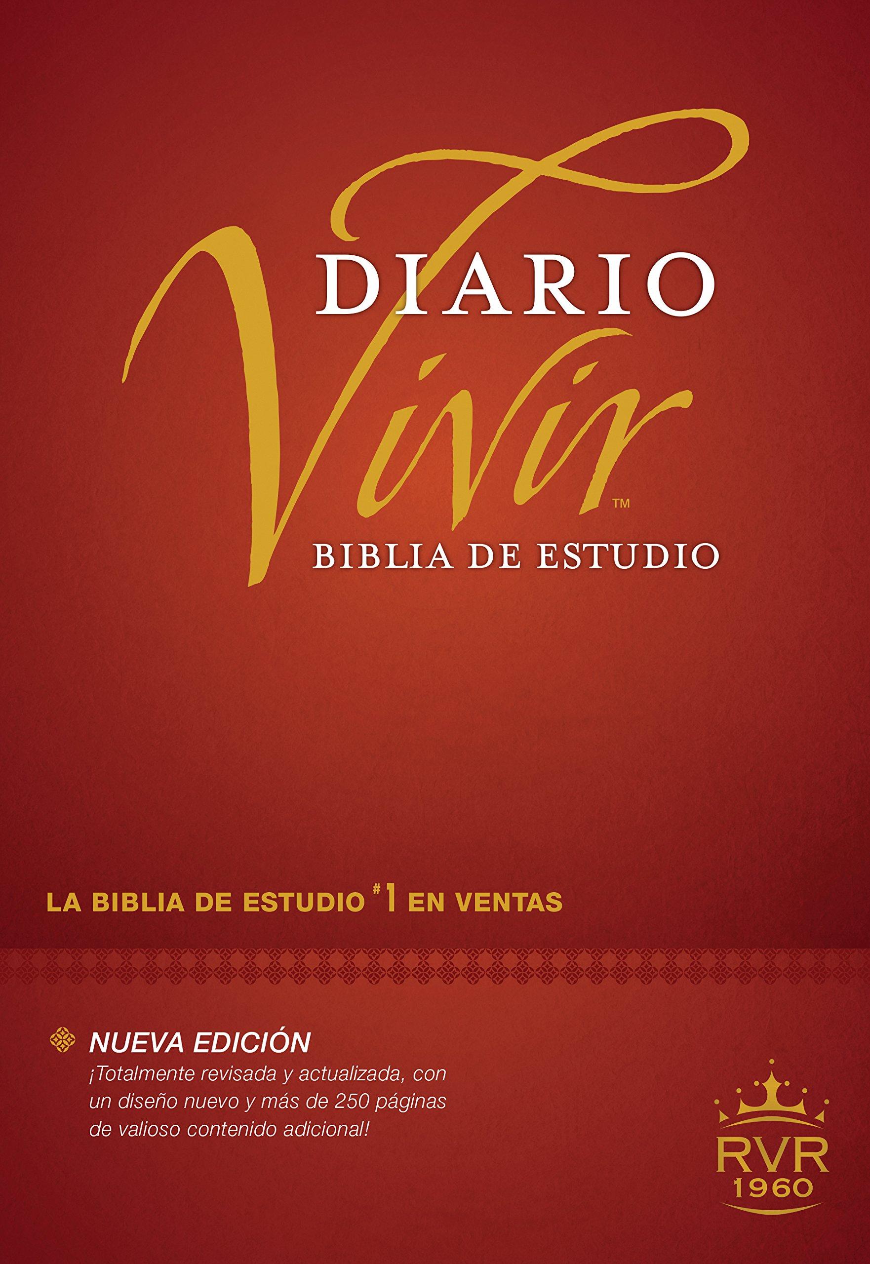 Biblia de Estudio Diario Vivir Nueva Edición