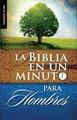 Biblia en un minuto para Hombres (Rustica) [Libro]