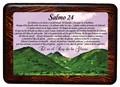 Salmo 24 (Cuadro con resina) [Miscelanea]